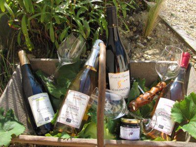 Les vins de Chinon du domaine des Béguineries