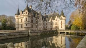 Chateau-d'Azay-le-Rideau près de Chinon