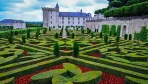 Le château de Villandry près de Chinon