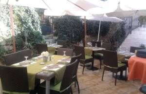 Côté jardin restaurant à Chinon