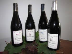 Gastronomie en Touraine avec les vins de Chinon