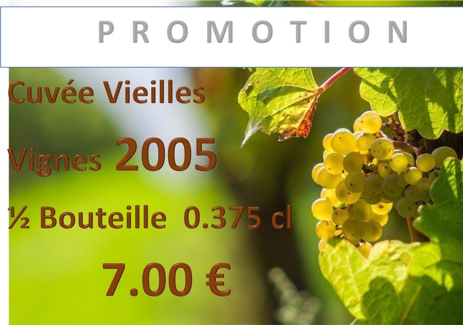 Promotion sur la cuvée Vieilles Vignes au domaine des Béguineries