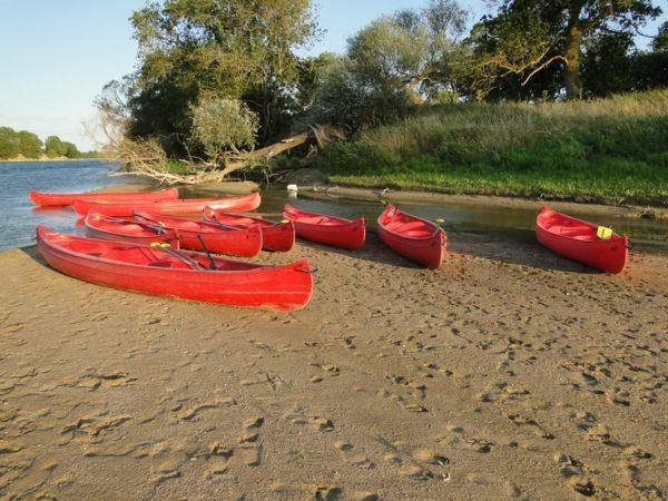 Descente de la Loire en canoé