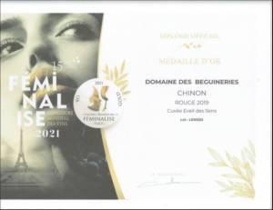 Concours de vins Féminalise 2021